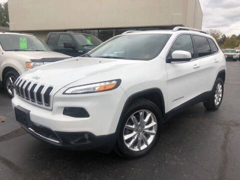 2015 Jeep Cherokee for sale at Sedo Automotive in Davison MI