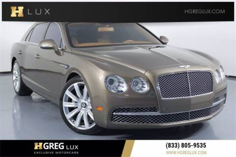 2015 Bentley Flying Spur for sale at HGREG LUX EXCLUSIVE MOTORCARS in Pompano Beach FL
