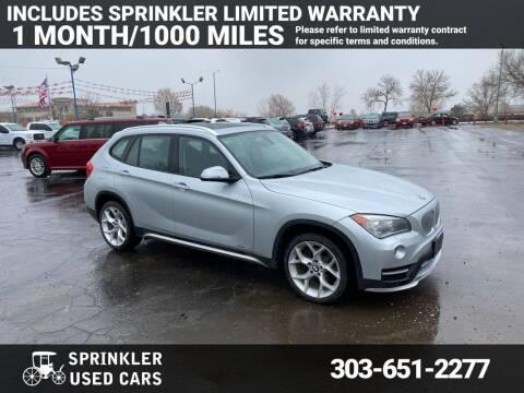 2015 BMW X1 for sale at Sprinkler Used Cars in Longmont CO