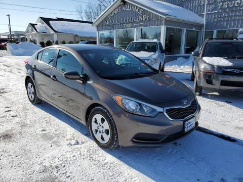 2014 Kia Forte for sale at Empire Alliance Inc. in West Coxsackie NY