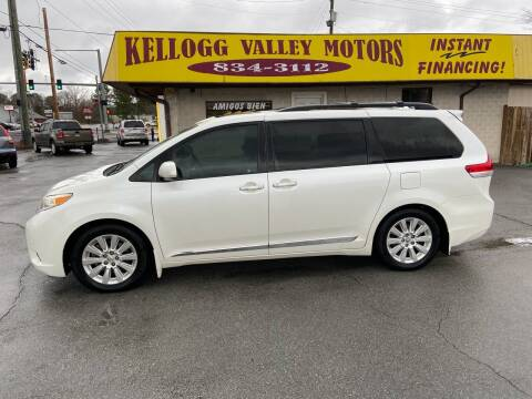 2012 Toyota Sienna for sale at Kellogg Valley Motors in Gravel Ridge AR