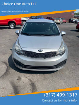 2014 Kia Rio for sale at Choice One Auto LLC in Beech Grove IN