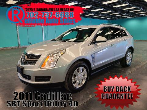 2011 Cadillac SRX for sale at Reliable Auto Sales in Las Vegas NV