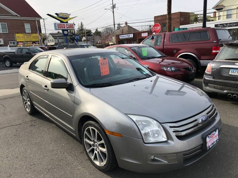 2008 Ford Fusion for sale at Bel Air Auto Sales in Milford CT