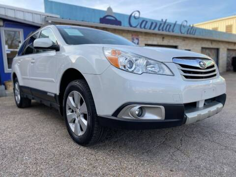 2012 Subaru Outback for sale at Capital City Automotive in Austin TX