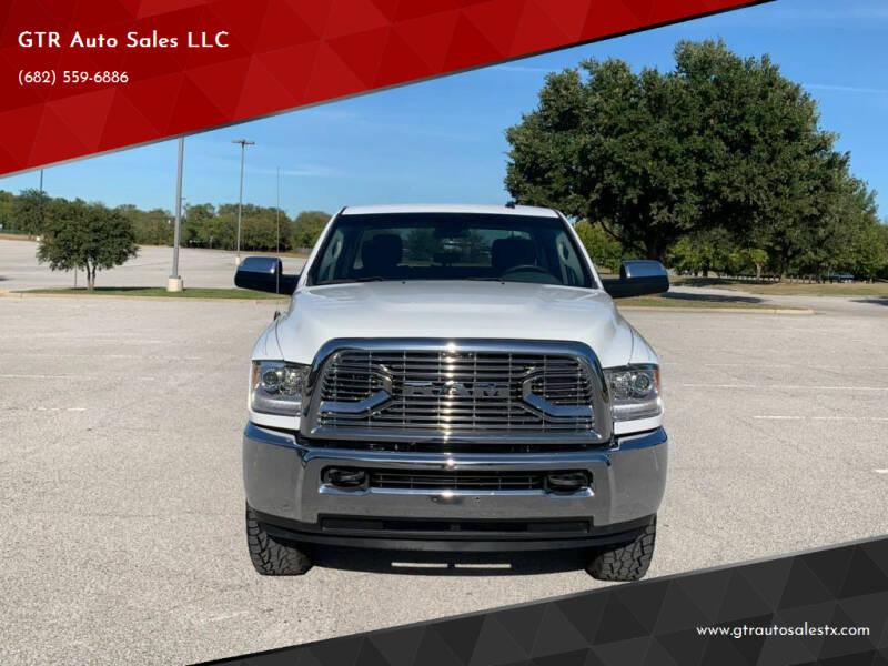 2018 RAM Ram Pickup 2500 for sale at GTR Auto Sales LLC in Haltom City TX