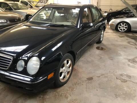 2002 Mercedes-Benz E-Class for sale at REGIONAL AUTO CENTER in Stafford VA