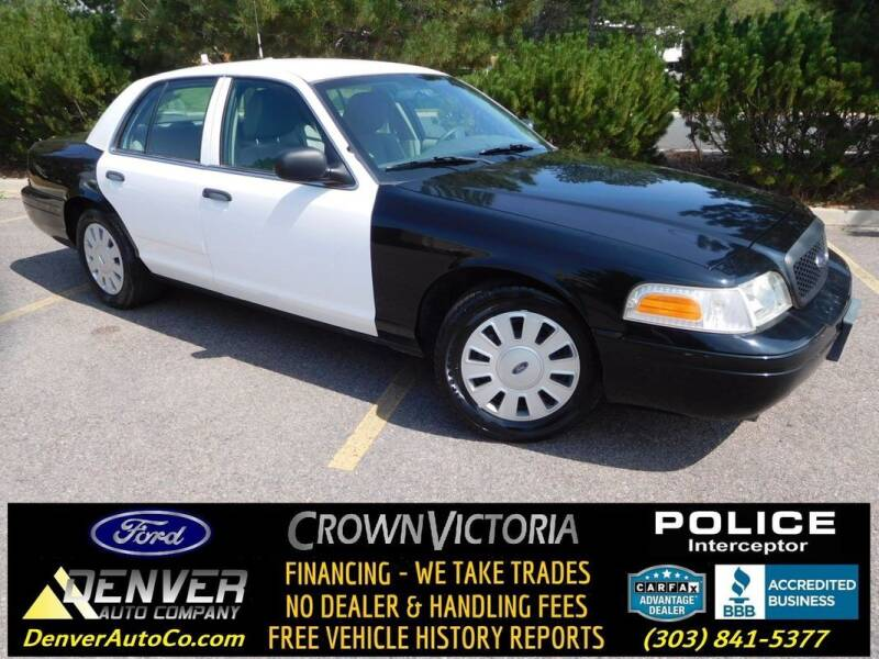 2011 Ford Crown Victoria for sale in Parker, CO