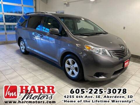2016 Toyota Sienna for sale at Harr Motors Bargain Center in Aberdeen SD