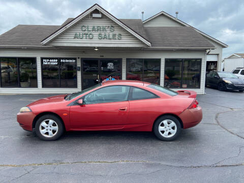 2000 Mercury Cougar for sale at Clarks Auto Sales in Middletown OH
