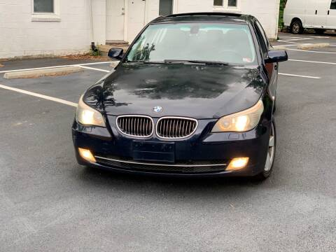 2008 BMW 5 Series for sale at XCELERATION AUTO SALES in Chester VA