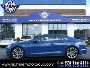 2019 Audi A5 for sale at Highline Group Motorsports in Lowell MA