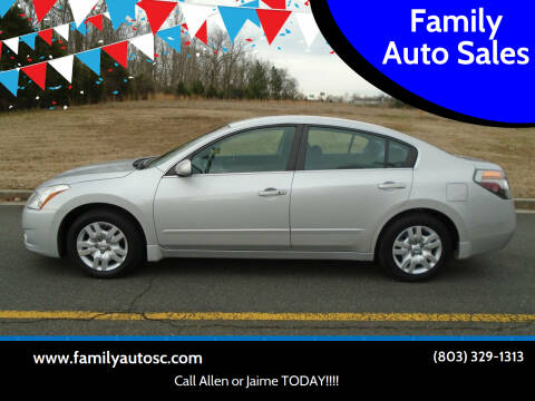 2012 Nissan Altima for sale at Family Auto Sales in Rock Hill SC