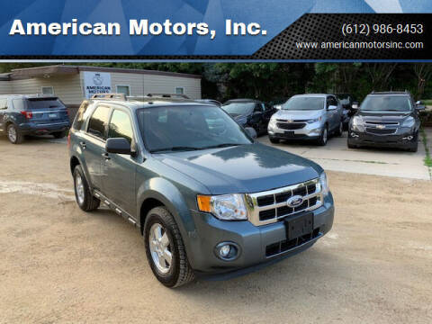 2011 Ford Escape for sale at American Motors, Inc. in Farmington MN