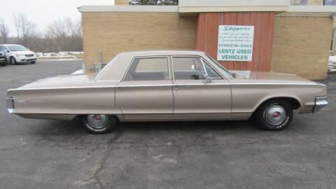 1965 Chrysler Newport for sale at LENTZ USED VEHICLES INC in Waldo WI