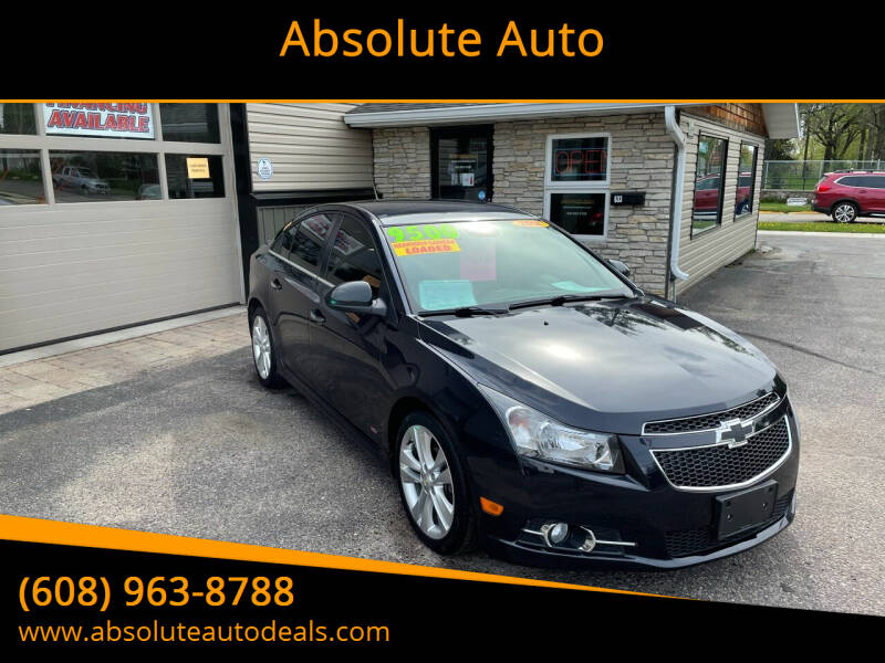 2014 Chevrolet Cruze for sale at Absolute Auto in Baraboo WI