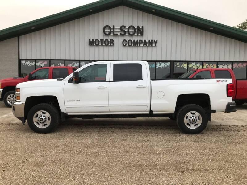 2015 Chevrolet Silverado 2500HD for sale at Olson Motor Company in Morris MN