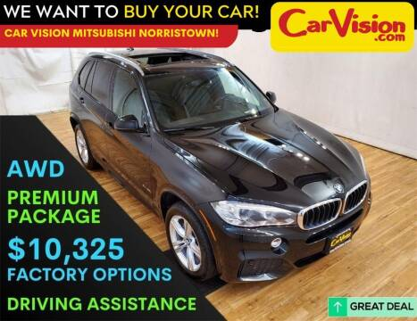 2017 BMW X5 for sale at Car Vision Mitsubishi Norristown in Trooper PA
