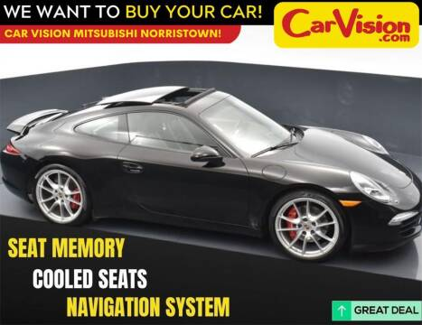 2014 Porsche 911 for sale at Car Vision Mitsubishi Norristown in Norristown PA