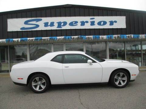 2016 Dodge Challenger for sale at SUPERIOR CHRYSLER DODGE JEEP RAM FIAT in Henderson NC