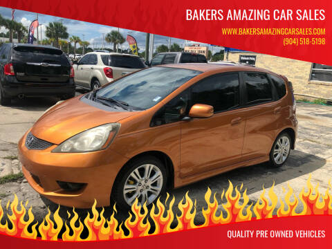 2010 Honda Fit for sale at Bakers Amazing Car Sales in Jacksonville FL