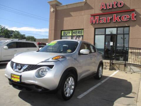 2017 Nissan JUKE for sale at Auto Market in Oklahoma City OK