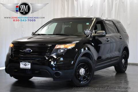 2015 Ford Explorer for sale at ZONE MOTORS in Addison IL