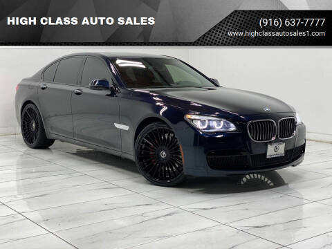 2014 BMW 7 Series for sale at HIGH CLASS AUTO SALES in Rancho Cordova CA