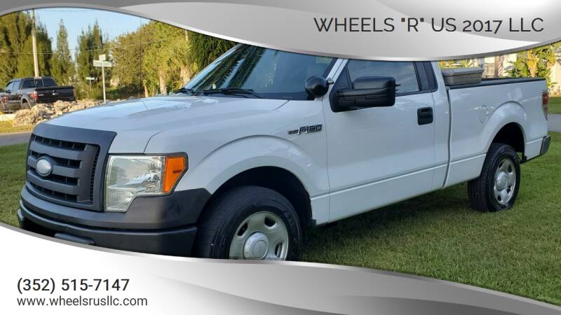 "2009 Ford F-150 for sale at WHEELS ""R"" US 2017 LLC in Hudson FL"