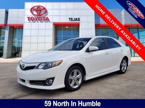 2013 Toyota Camry for sale at TEJAS TOYOTA in Humble TX