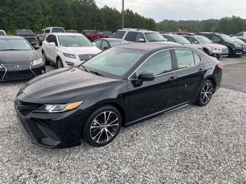 2018 Toyota Camry for sale at Billy Ballew Motorsports in Dawsonville GA