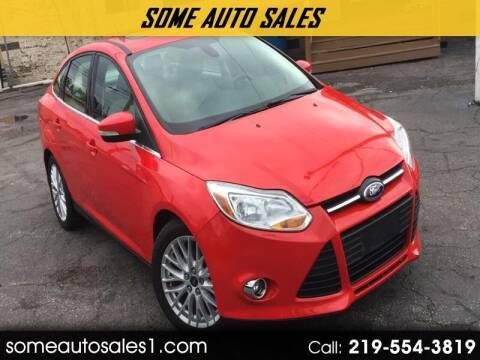 2012 Ford Focus for sale at Some Auto Sales in Hammond IN