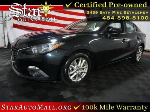2015 Mazda MAZDA3 for sale at STAR AUTO MALL 512 in Bethlehem PA