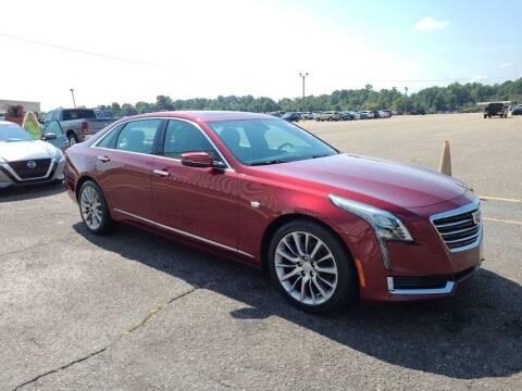 2017 Cadillac CT6 for sale at JOE BULLARD USED CARS in Mobile AL