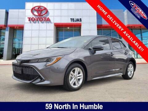 2021 Toyota Corolla Hatchback for sale at TEJAS TOYOTA in Humble TX