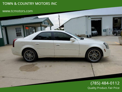 2007 Cadillac CTS for sale at TOWN & COUNTRY MOTORS INC in Meriden KS