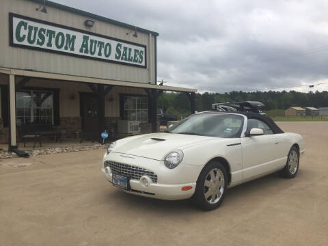 2003 Ford Thunderbird for sale at Custom Auto Sales - AUTOS in Longview TX