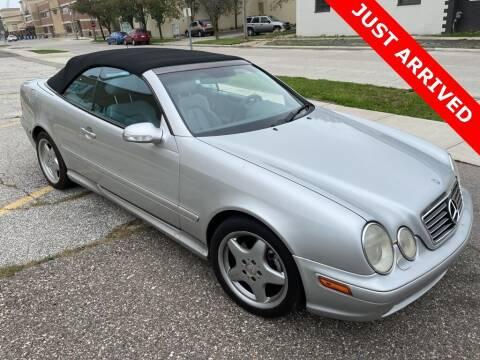 2000 Mercedes-Benz CLK for sale at MATTHEWS HARGREAVES CHEVROLET in Royal Oak MI