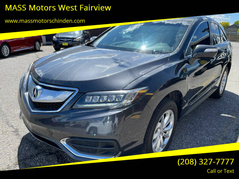 2016 Acura RDX for sale at MASS Motors West Fairview in Boise ID