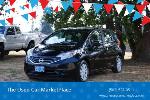 2014 Nissan Versa Note for sale at The Used Car MarketPlace in Newberg OR