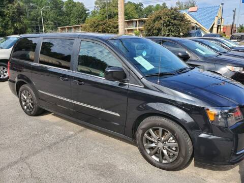 2015 Chrysler Town and Country for sale at J Franklin Auto Sales in Macon GA