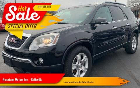 2009 GMC Acadia for sale at American Motors Inc. - Belleville in Belleville IL