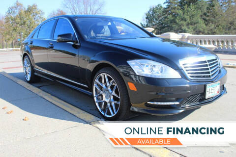 2013 Mercedes-Benz S-Class for sale at K & L Auto Sales in Saint Paul MN