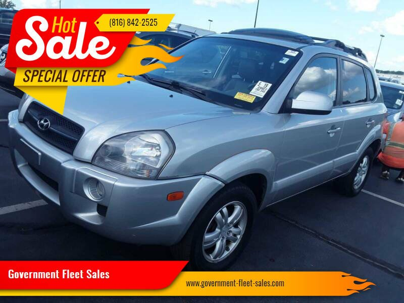 2007 Hyundai Tucson for sale at Government Fleet Sales - Buy Here Pay Here in Kansas City MO