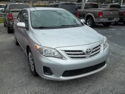 2013 Toyota Corolla for sale at PJ's Auto World Inc in Clearwater FL