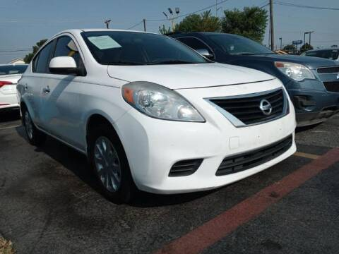 2013 Nissan Versa for sale at Auto Plaza in Irving TX