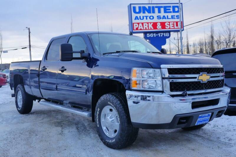 2012 Chevrolet Silverado 2500HD for sale at United Auto Sales in Anchorage AK