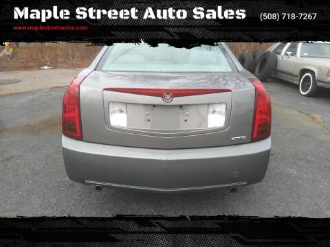 2005 Cadillac CTS for sale at Maple Street Auto Sales in Bellingham MA