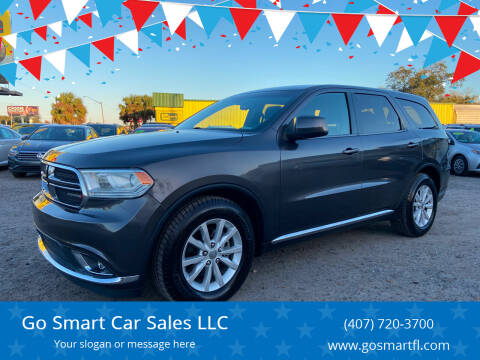 2015 Dodge Durango for sale at Go Smart Car Sales LLC in Winter Garden FL