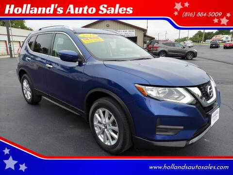 2017 Nissan Rogue for sale at Holland's Auto Sales in Harrisonville MO